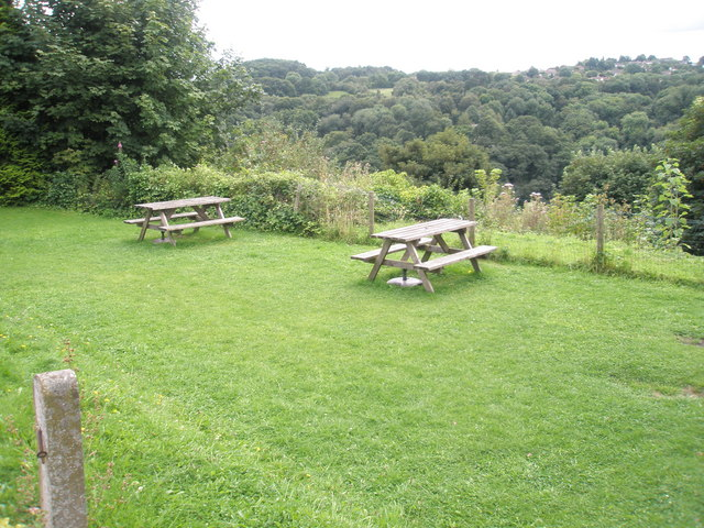 File:Beer garden at The Crown - geograph.org.uk - 1467095.jpg