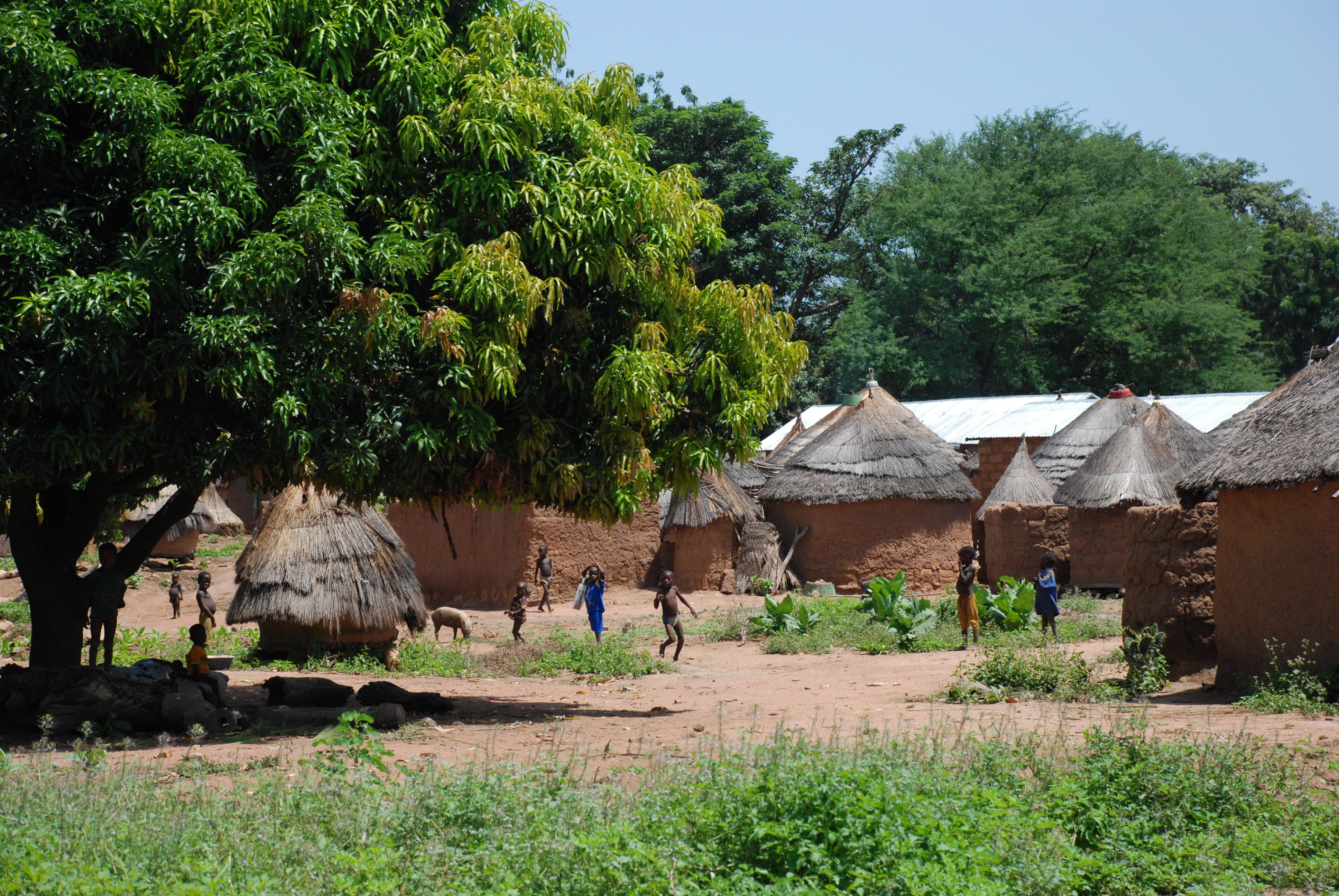 Afrika - Page 16 Benin_village_atakora