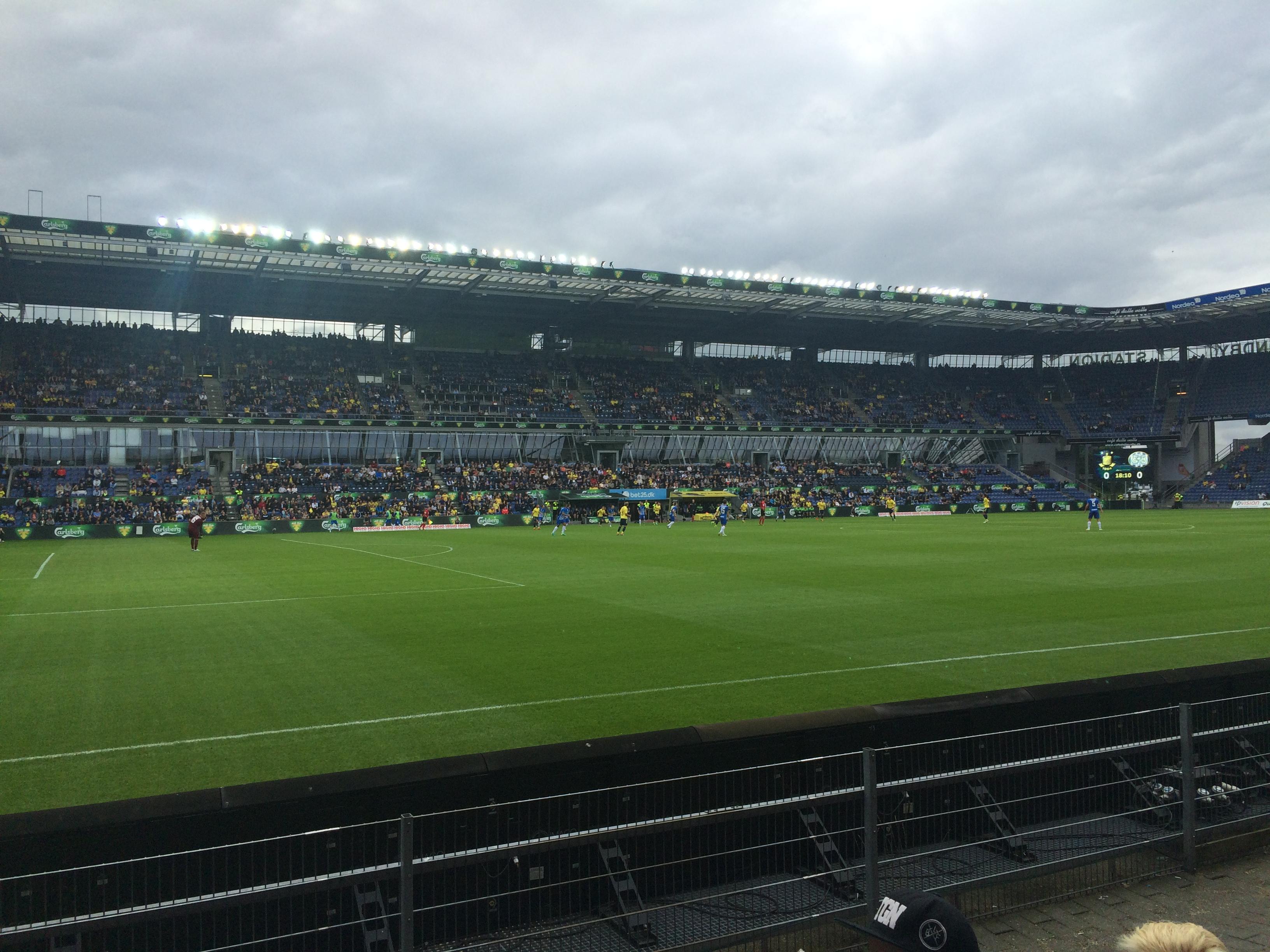 parkering brøndby stadion