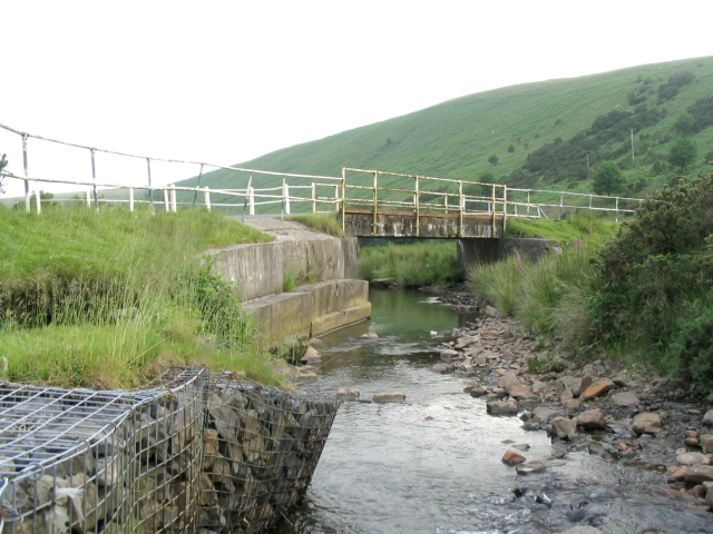 Bridge over Clydach river - geograph.org.uk - 20587