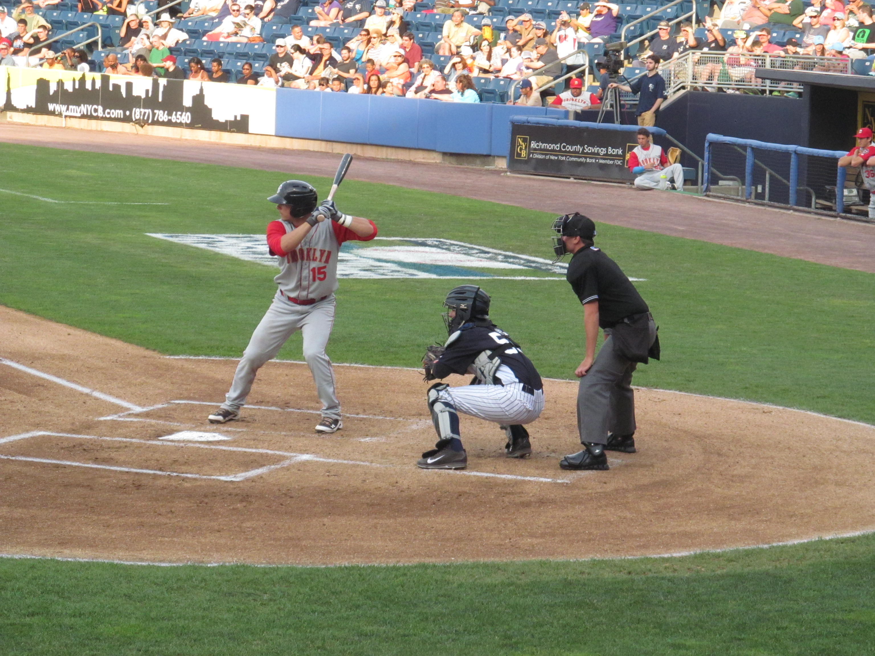file:brooklyn cyclones vs. staten island yankees - june 28, 2014