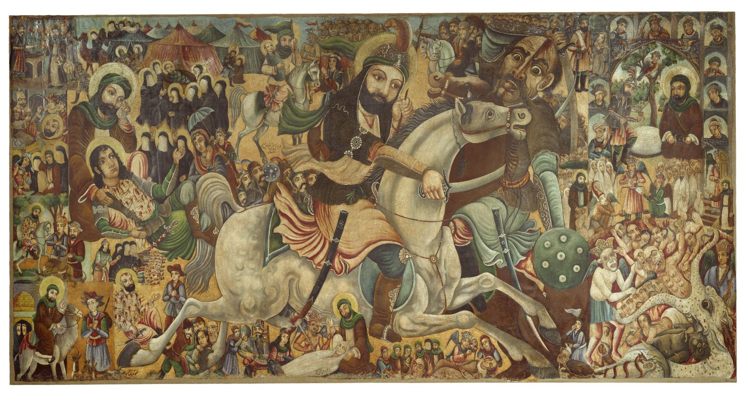 Brooklyn Museum - Battle of Karbala - Abbas Al-Musavi - overall