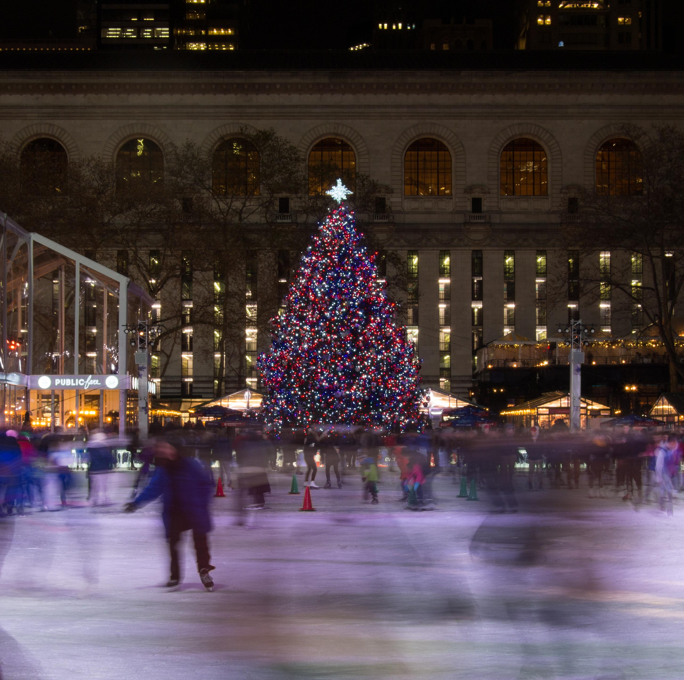 Bryant Park Christmas.E Bryant Park Christmas Tree Li Meta Morphoz