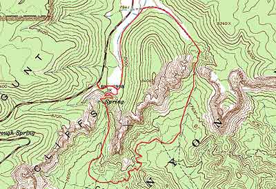 Grand Canyon Elevation Map