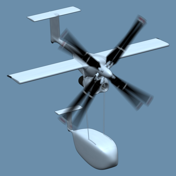 Contra Rotating Propellers : Aircraft with contra rotating propellers