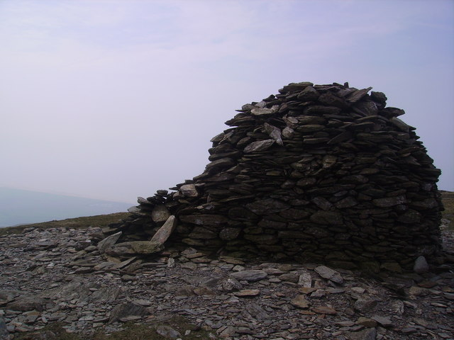 Cairn, Black Combe - geograph.org.uk - 797955