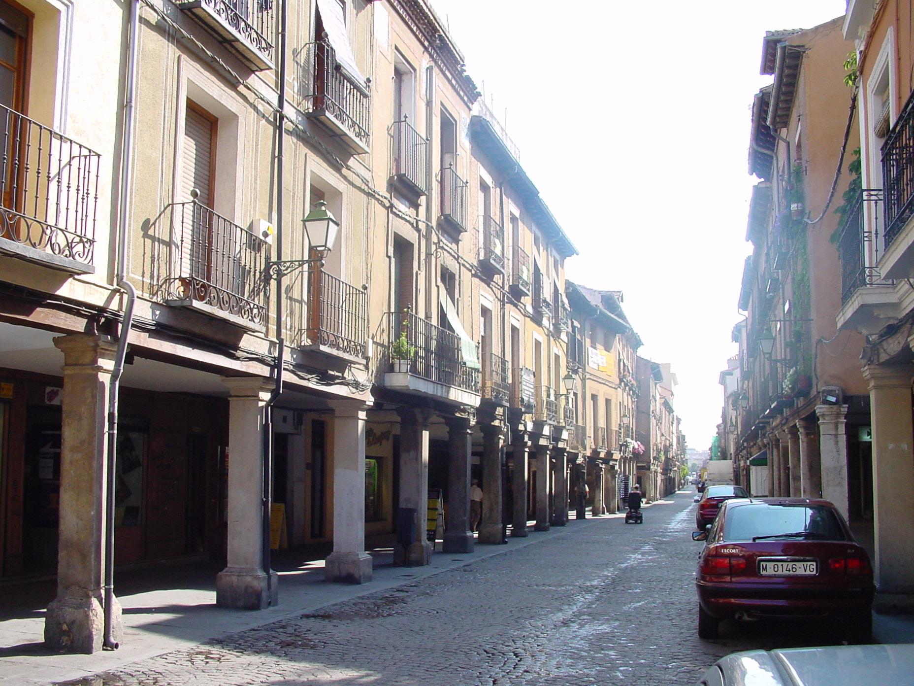 File calle mayor en alcal de wikimedia commons - Fontaneros en alcala de henares ...