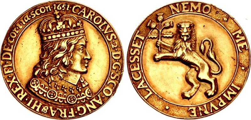 File:Cast gold medal of Charles II Stuart.jpg