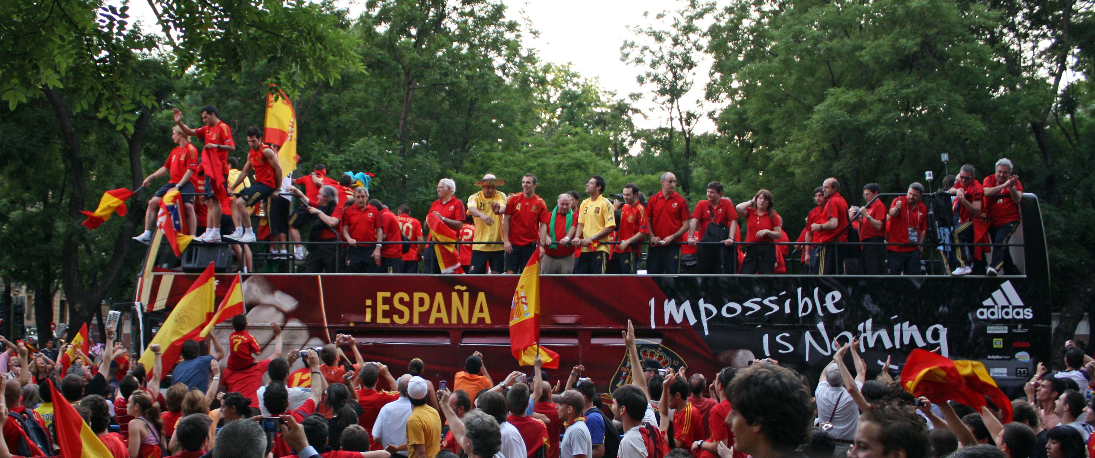 Spanien spas ga mot samre tider
