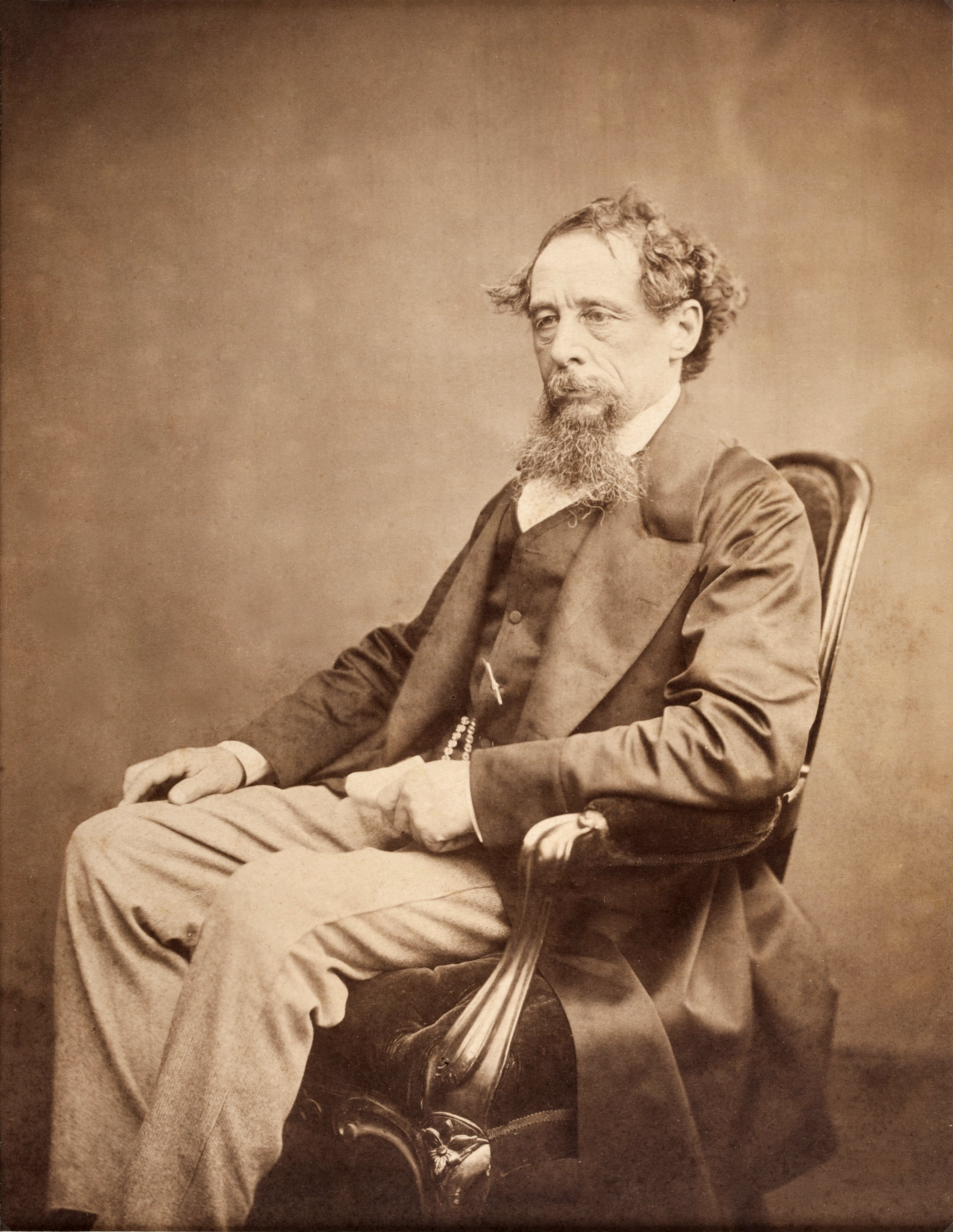 File Charles Dickens Circa 1860s Png Wikimedia Commons