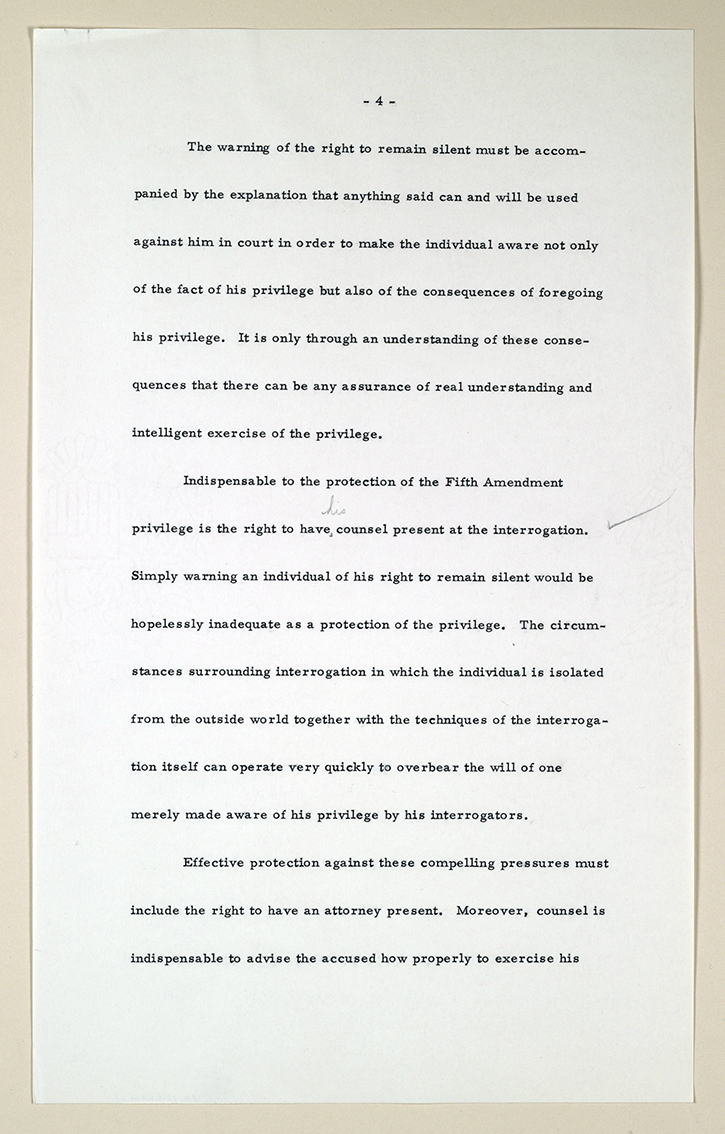 miranda rights essay papers Read this business research paper and over 88,000 other research documents miranda rights miranda rights everyone has heard the term miranda rights, whether that be.