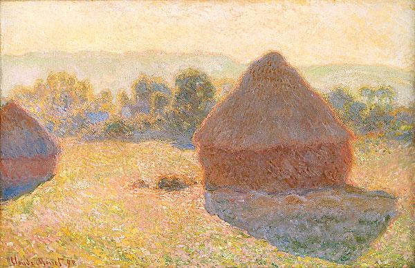 [peinture] Vos oeuvres préférées Claude_Monet_-_Meules%2C_milieu_du_jour