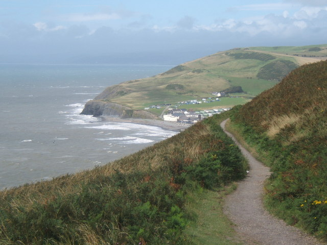 Coastal path north from Constitution Hill - geograph.org.uk - 924473