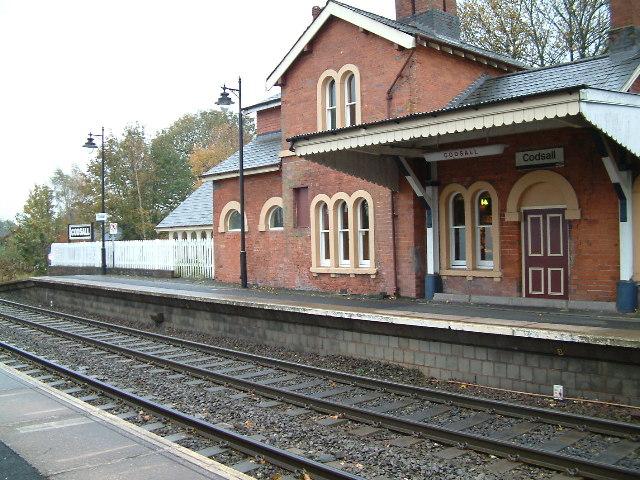 Codsall Railway Station Wikipedia