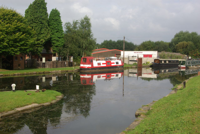 Cromford Canal, Langley Mill - geograph.org.uk - 551191