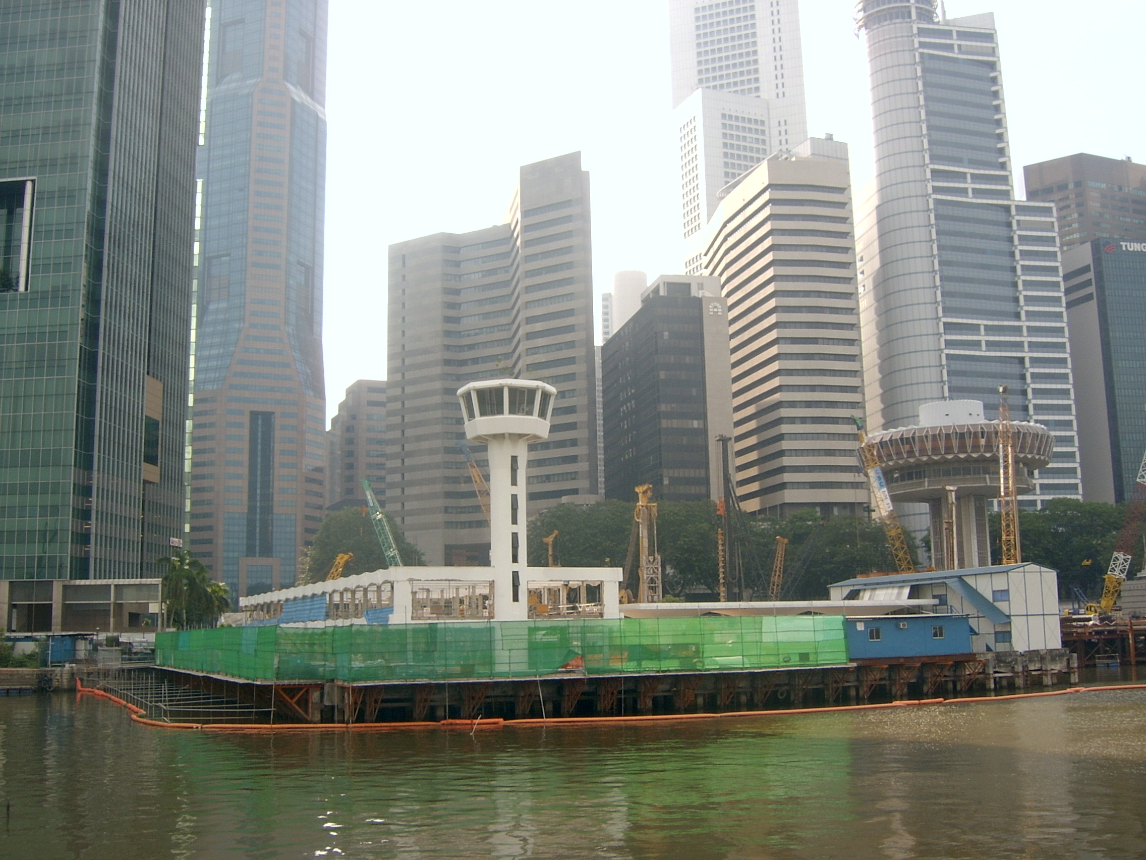 Construction - Singapore Customs House