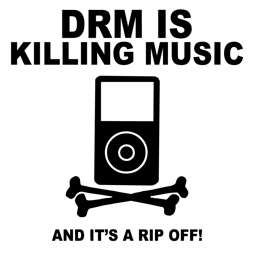DRM Killing Music
