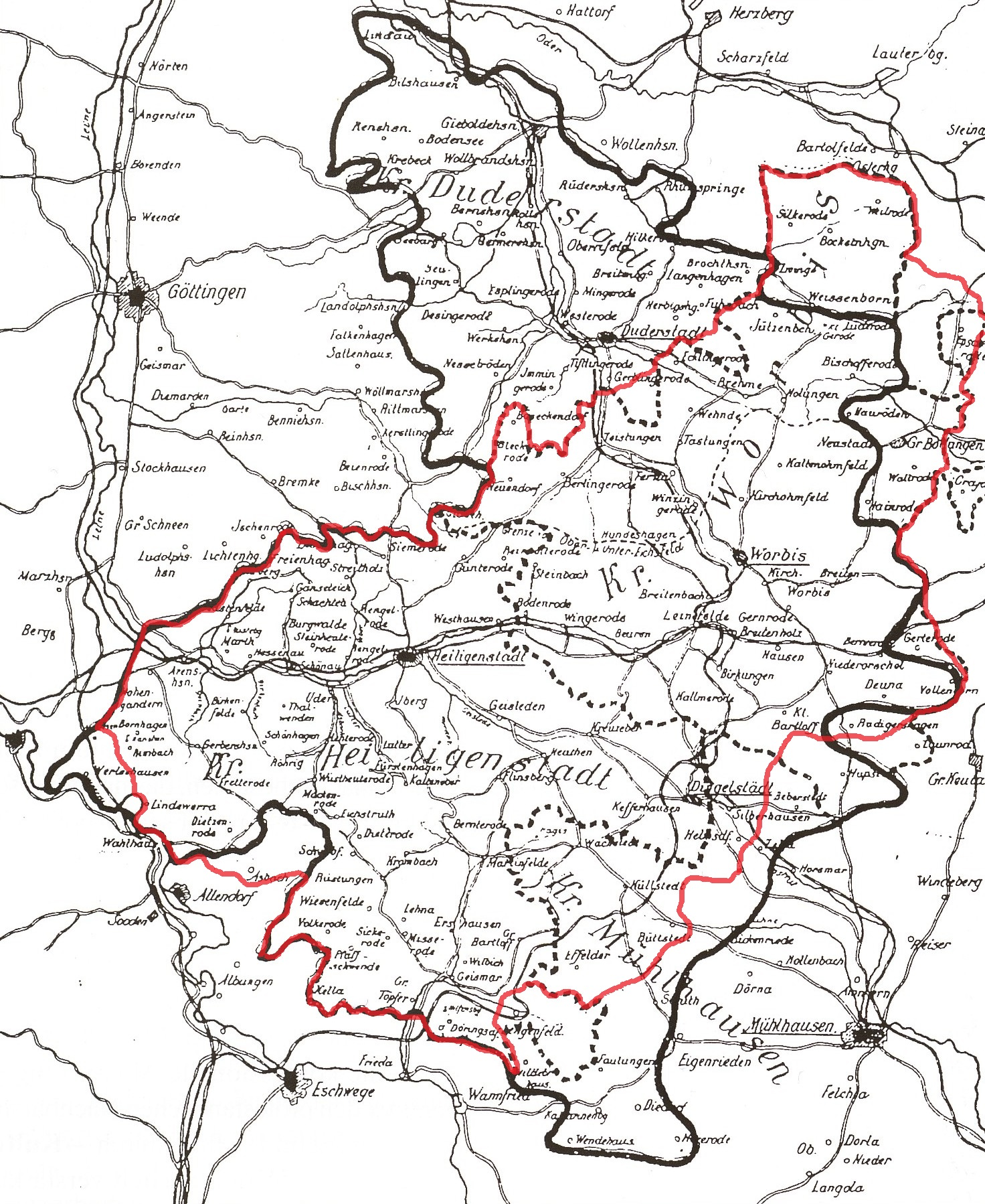 Landkreis Eichsfeld Wikiwand