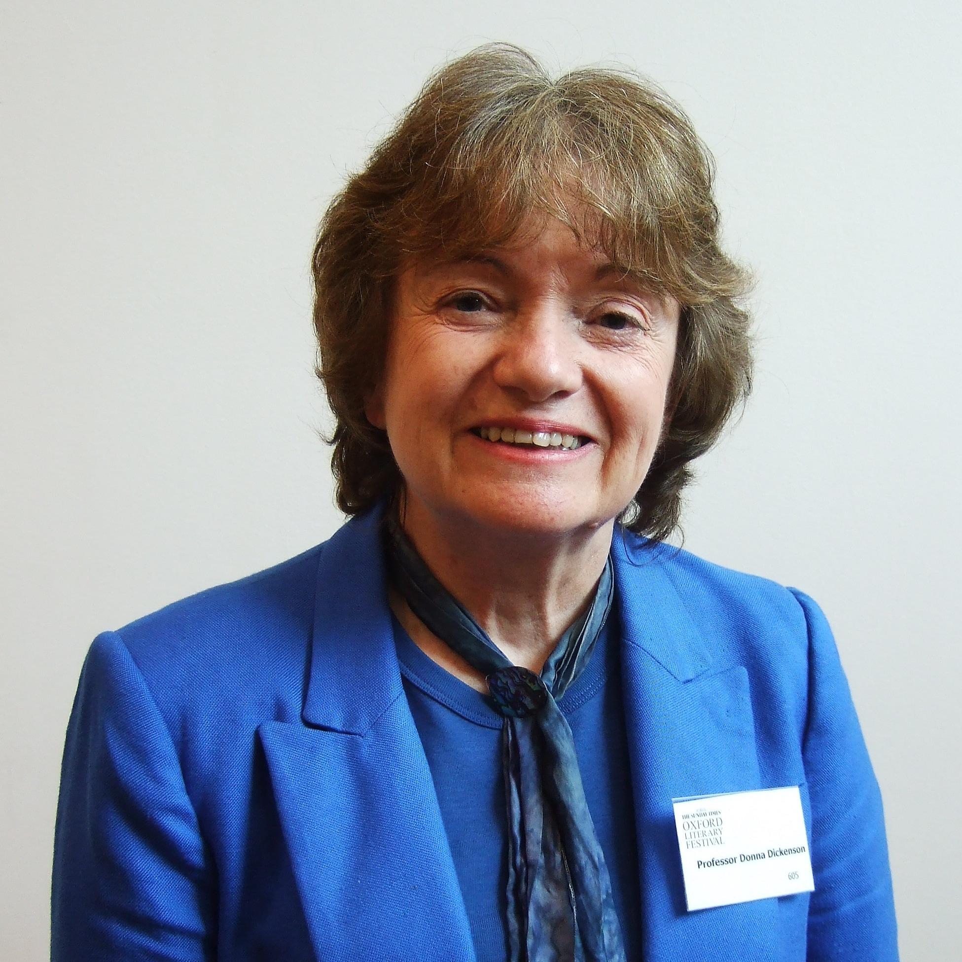 Donna Dickenson at the 2012 Oxford Literary Festival