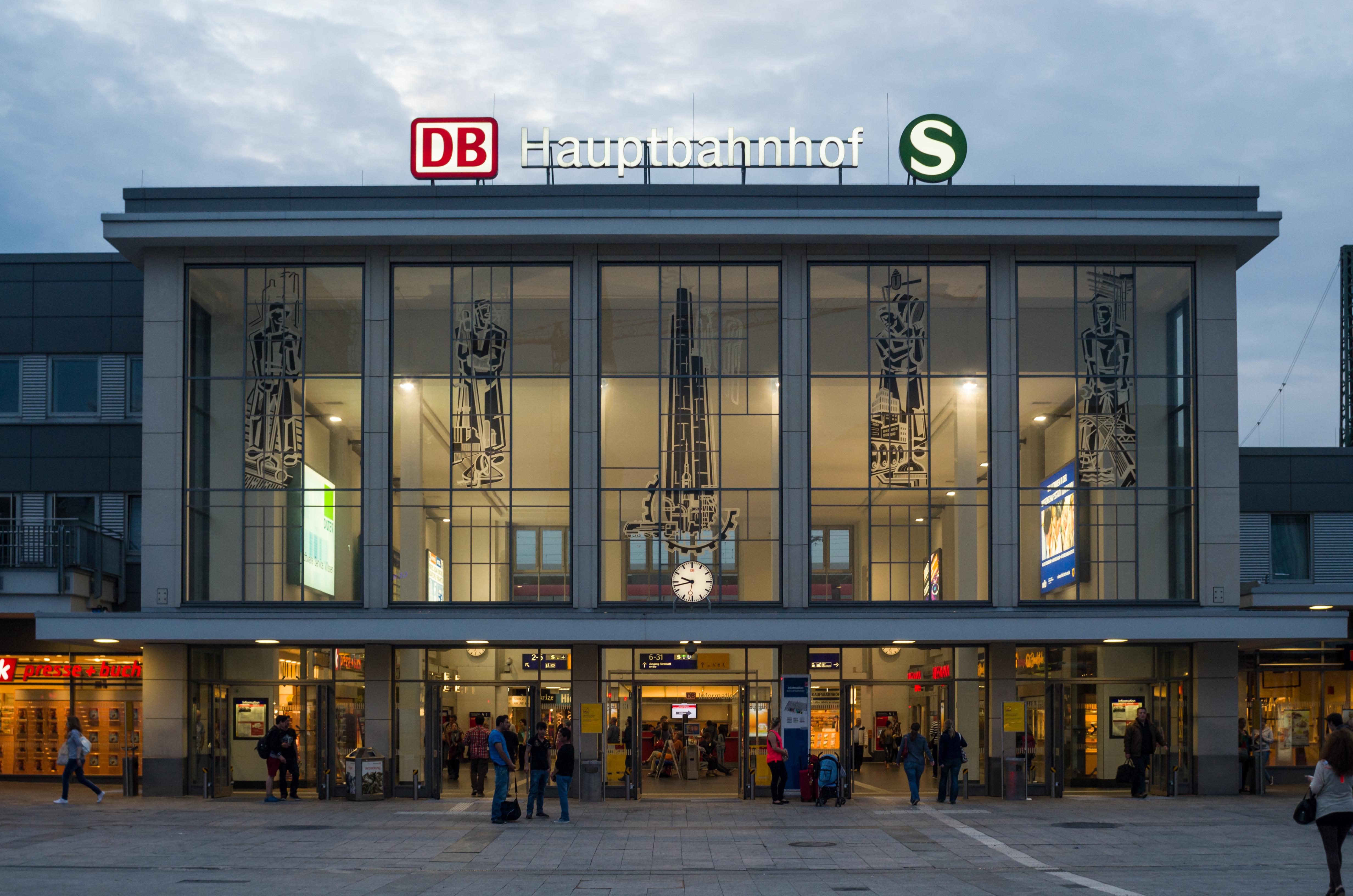 FileDortmundHauptbahnhofAbends2013jpg Wikimedia Commons