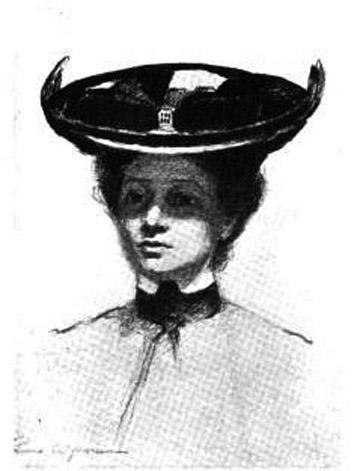 Eleanor Hoyt Brainerd, ca. 1902
