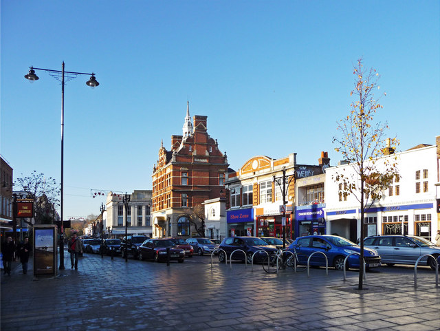 Enfield Town centre, Enfield - geograph.org.uk - 1076300