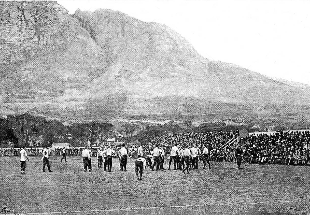 England v Cape Colony, 1891. The first match of the Bill MacLagan undefeated tour of South Africa