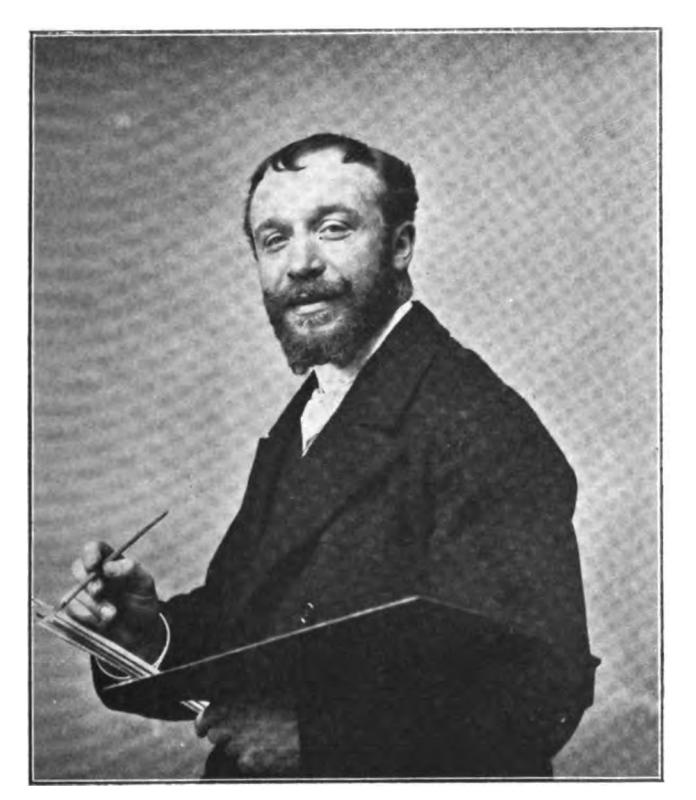 Retrato de Eugene Auguste François Deully