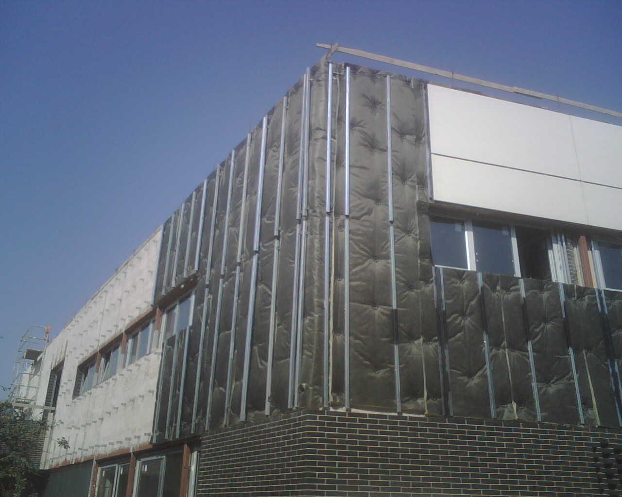 Fachada ventilada weblog aluminio y pvc for Fachada aluminio