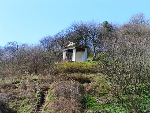 Folly in the Woodland Park, Saltburn - geograph.org.uk - 1229210