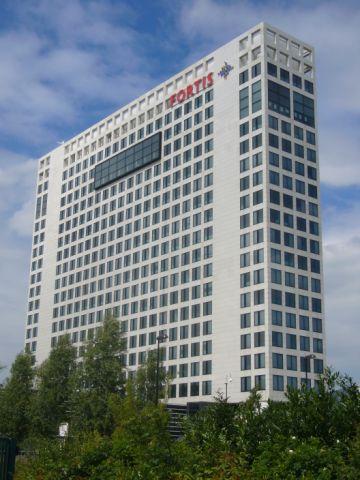 Fortis-gebouw in Rijnsweerd. Het aanstaande provinciehuis van Utrecht