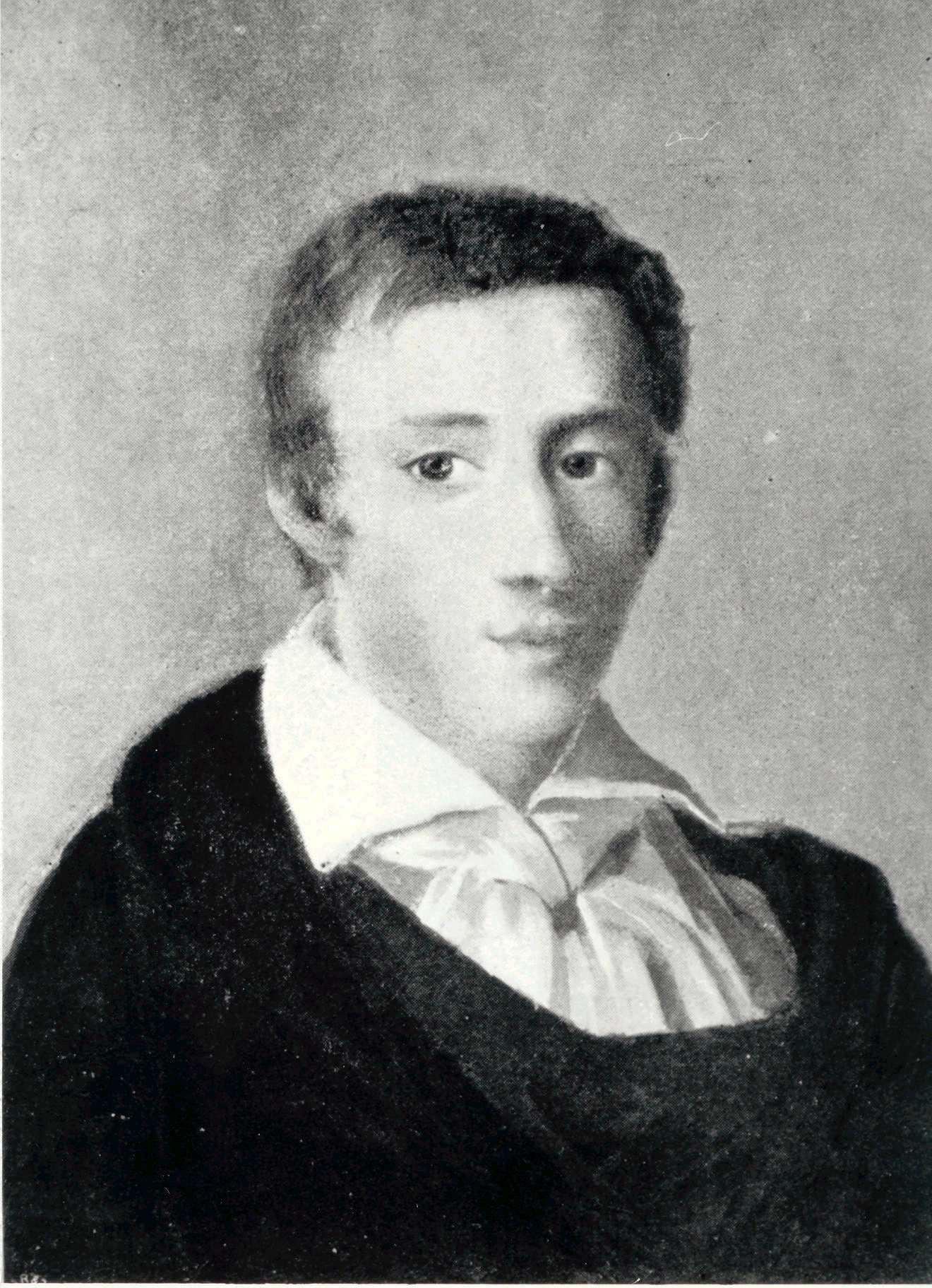 Chopin en 1829, obra de Ambroży Mieroszewski.