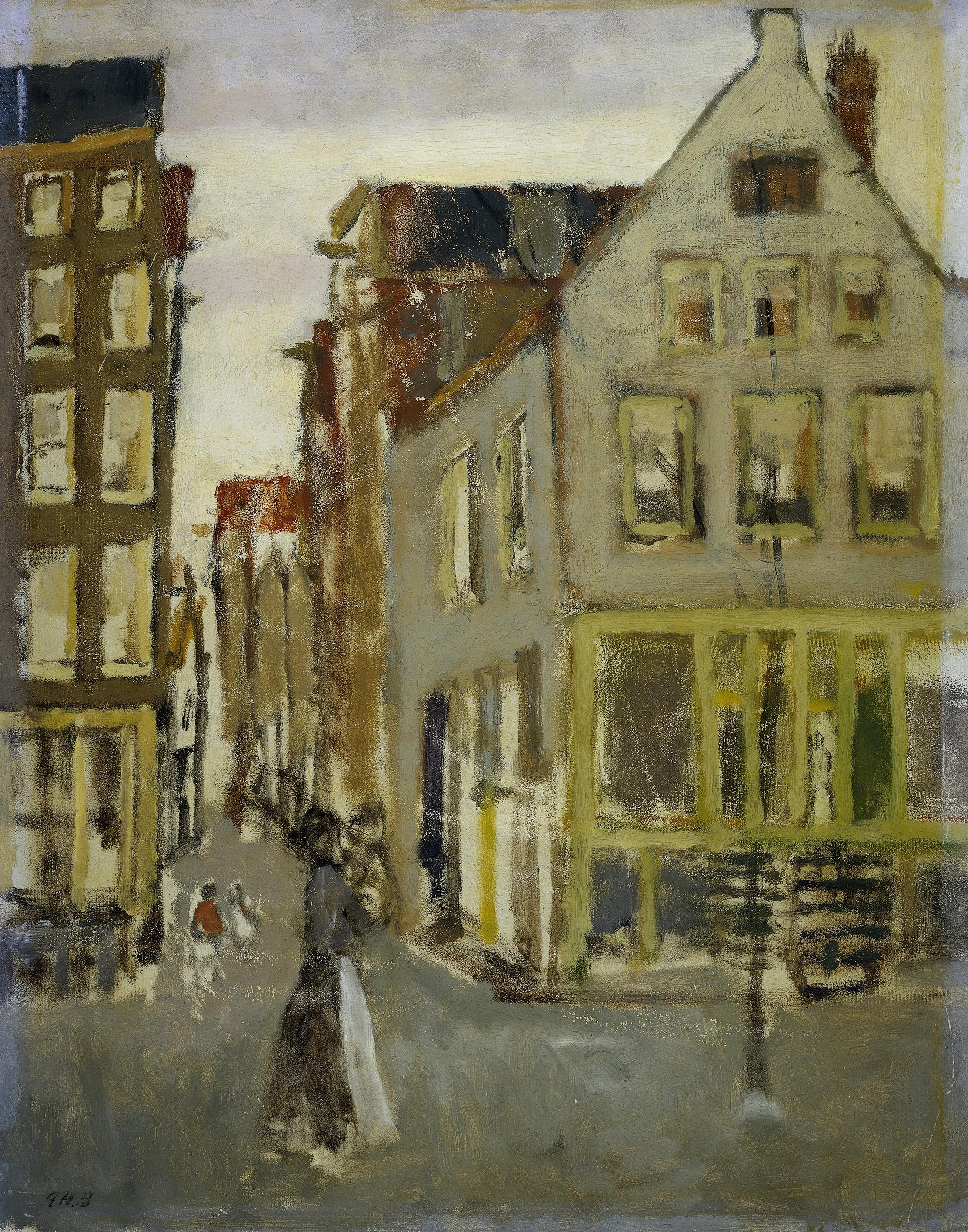 File George Hendrik Breitner De Lauriergracht Bij De