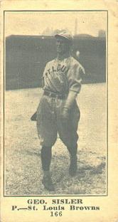George Sisler (1916 baseball card)