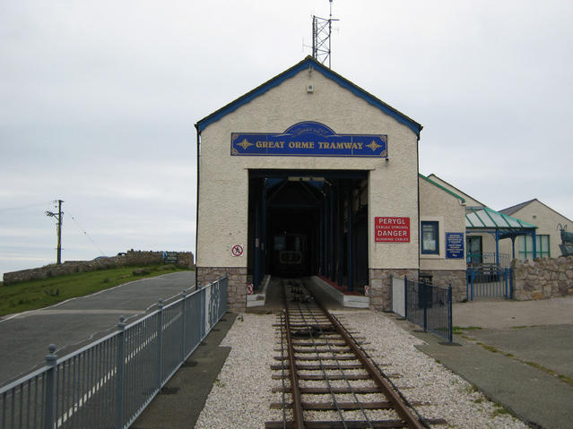 File:Great Orme Tramway top station - geograph.org.uk - 559561.jpg