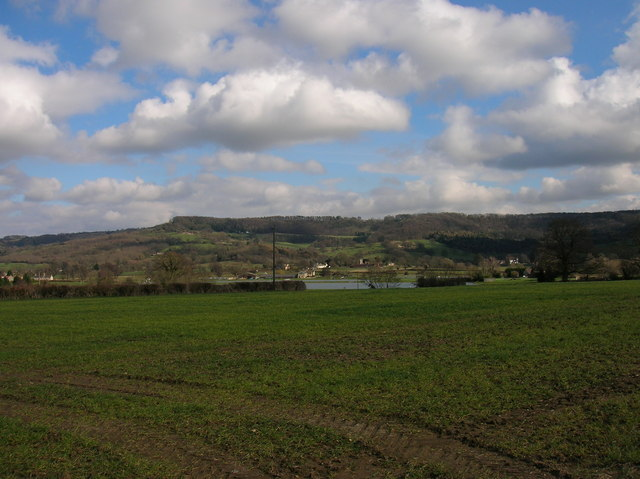 Great Witcombe reservoir - geograph.org.uk - 1081369