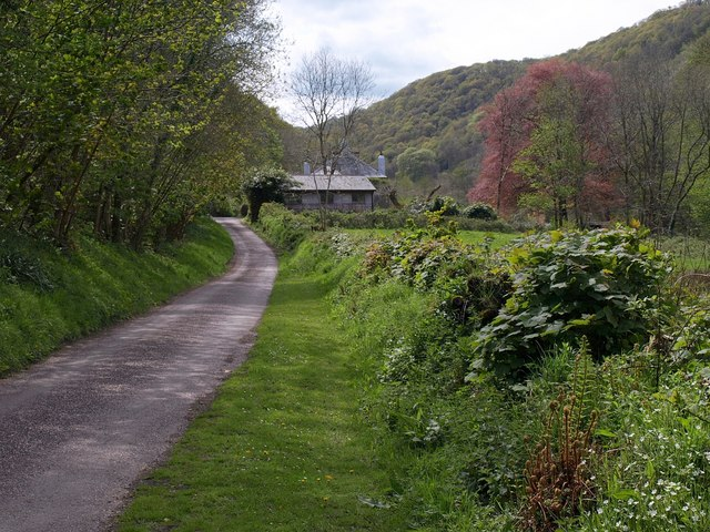 Heddon valley at Milltown - geograph.org.uk - 1287310