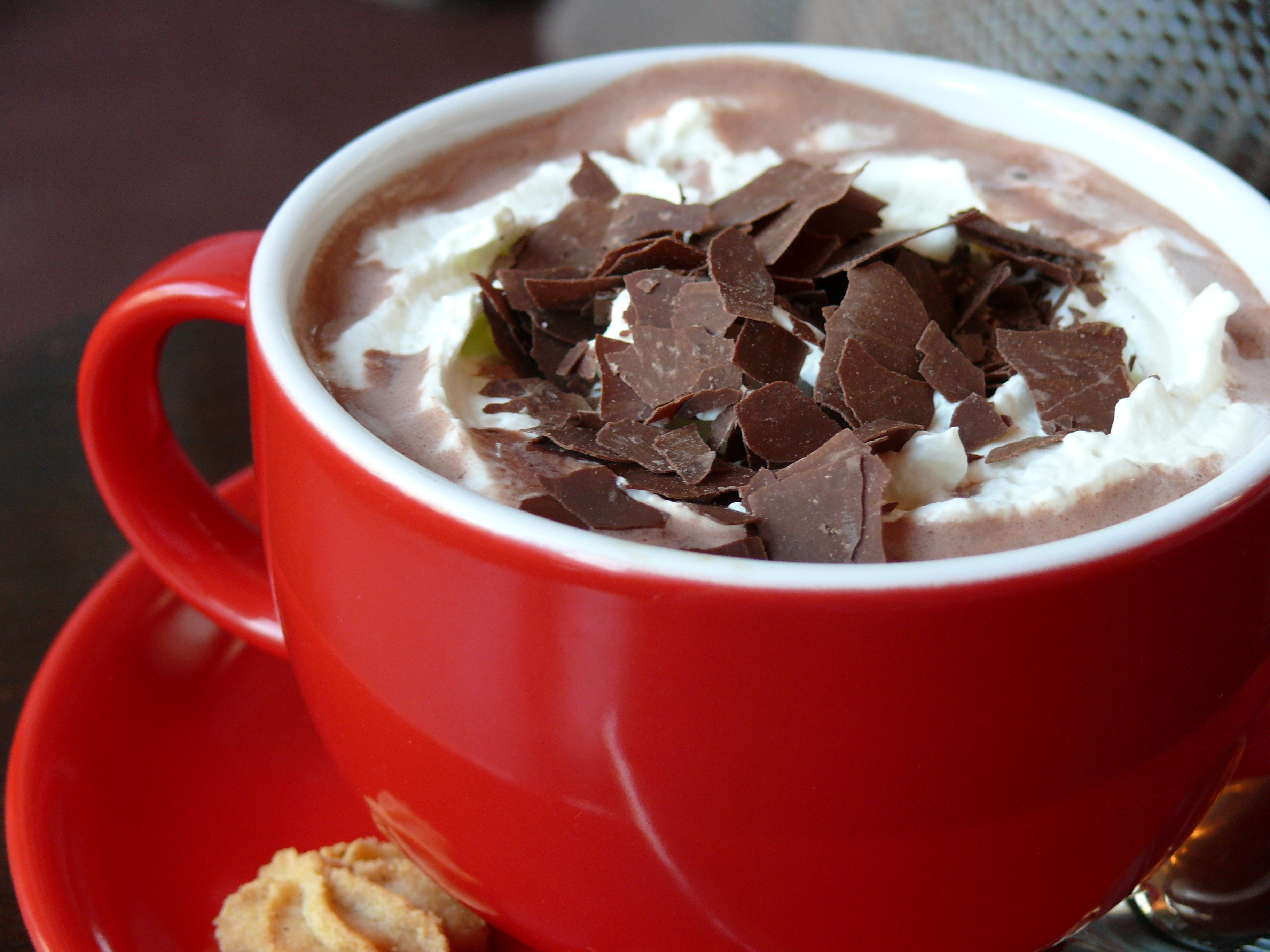 Soda Fountain Malty Hot Chocolate