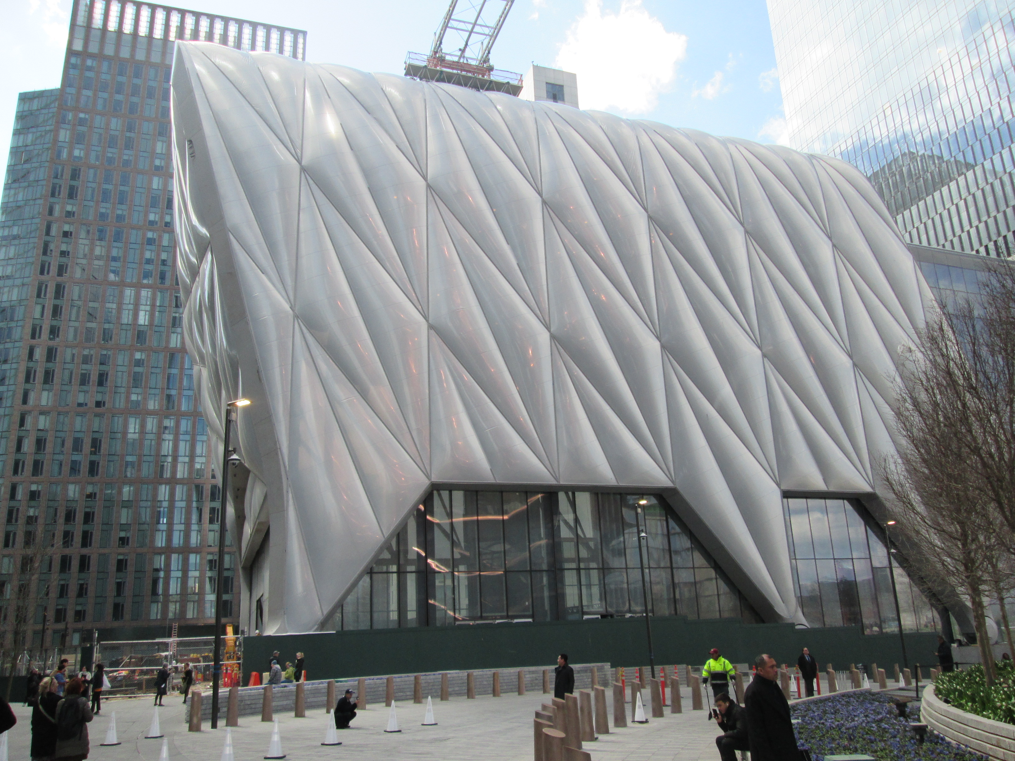 Exhibition Shell Yard : The shed hudson yards wikipedia