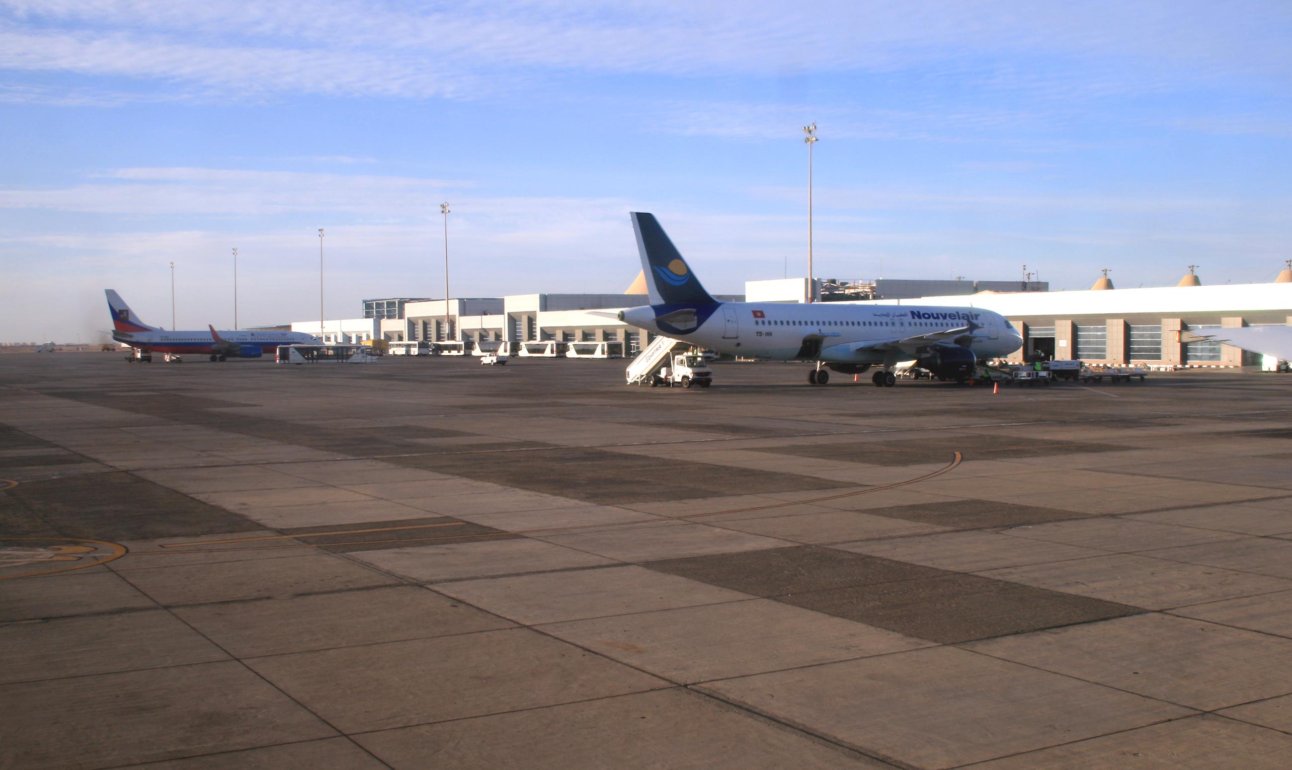 Аэропорт Хургада (Hurghada International Airport).2