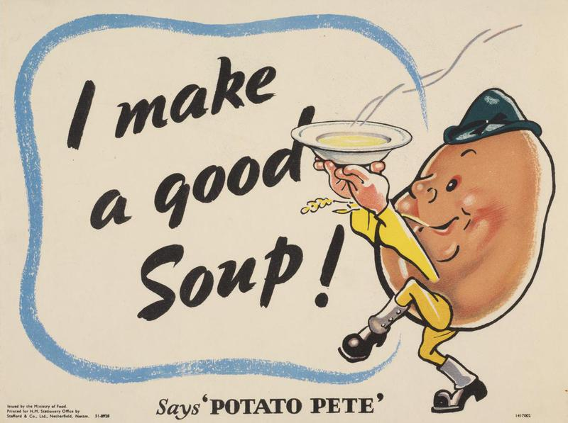 I Make a Good Soup - Says Potato Pete Art.IWMPST6080