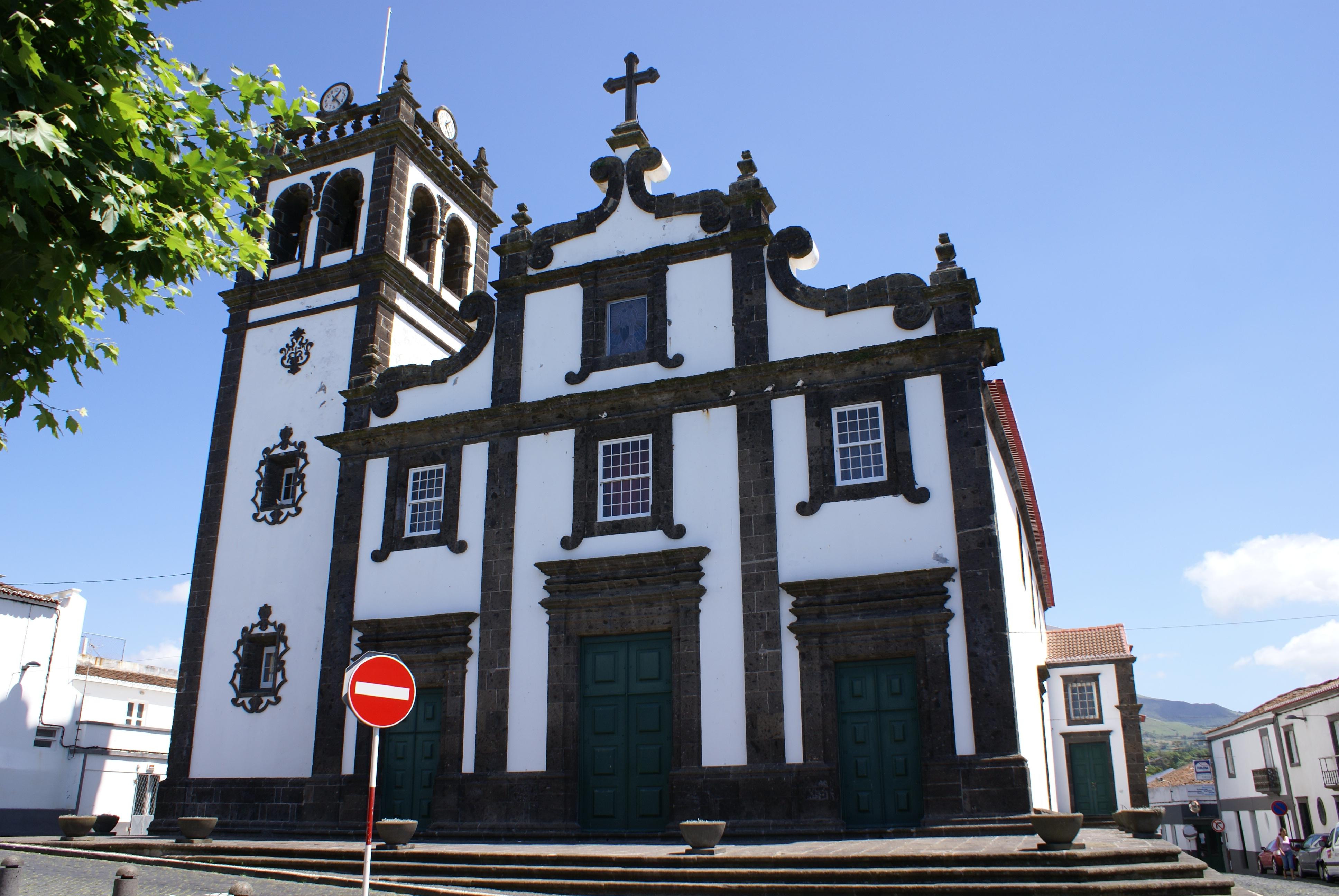 Rosario-Lagoa Portugal  city photos gallery : Igreja de Nossa Senhora do Rosário, fachada, Lagoa, ilha de São ...