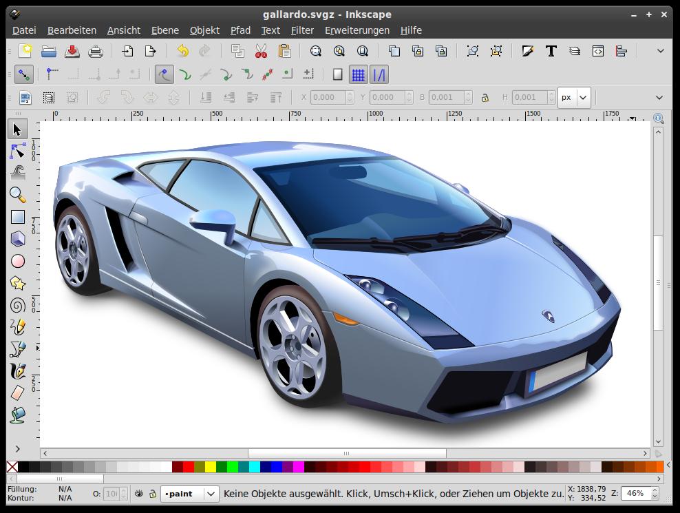 Inkscape 0.47 de اینکاسکیپ
