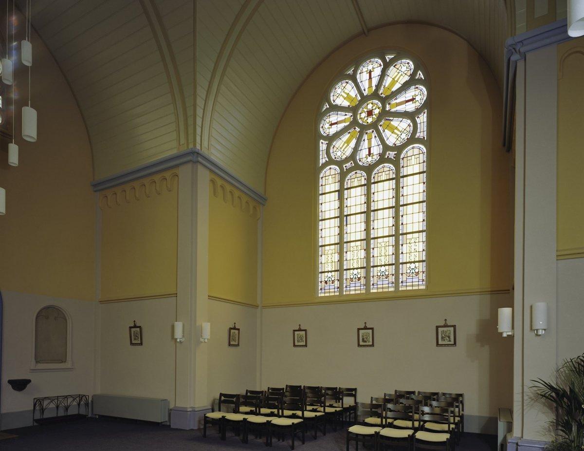 File:Interieur, overzicht glas in loodraam - Gouda - 20375794 - RCE ...