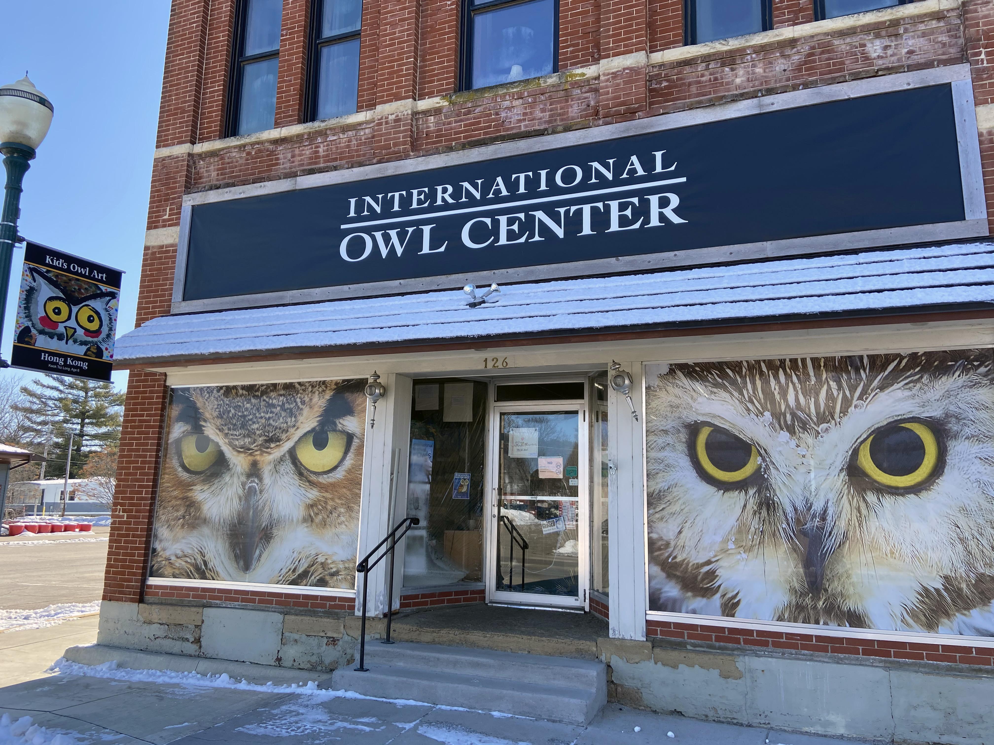 File International Owl Center 126 E Cedar St Houston Mn 55943 Storefront View Jpg Wikimedia Commons
