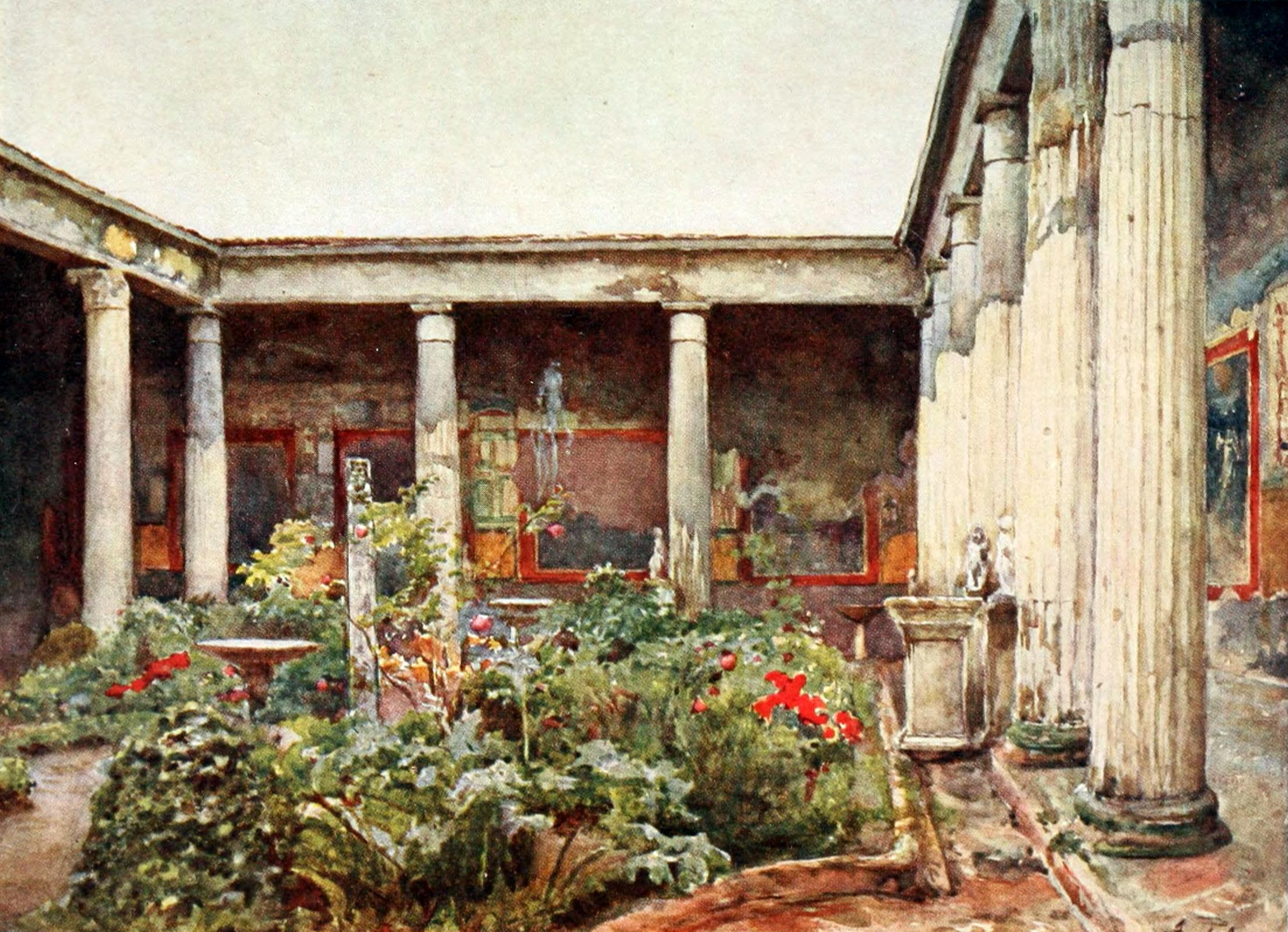 Westcivprojcashour what is so ancient about rome for Roman garden designs