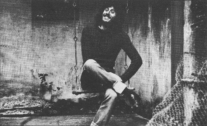 Jaime Roos en 1977. Imagen perteneciente a su primer LP Candombe del 31.