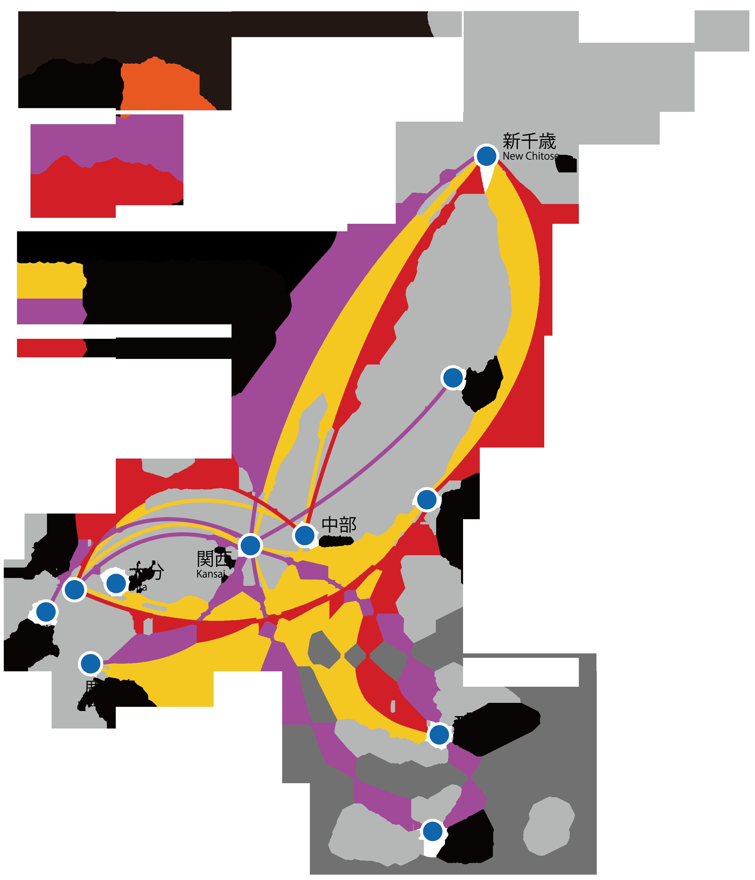 FileJapanese LCCs RouteMappng Wikimedia Commons - Japan jetstar map