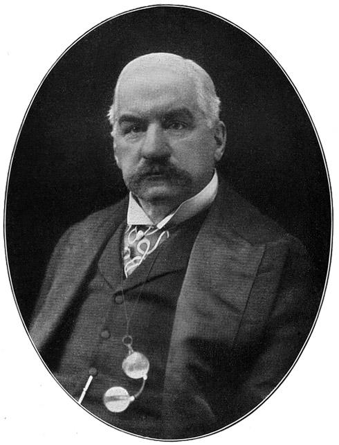 John Pierpont Morgan, propriétaire indirect du TITANIC JohnPierpontMorgan