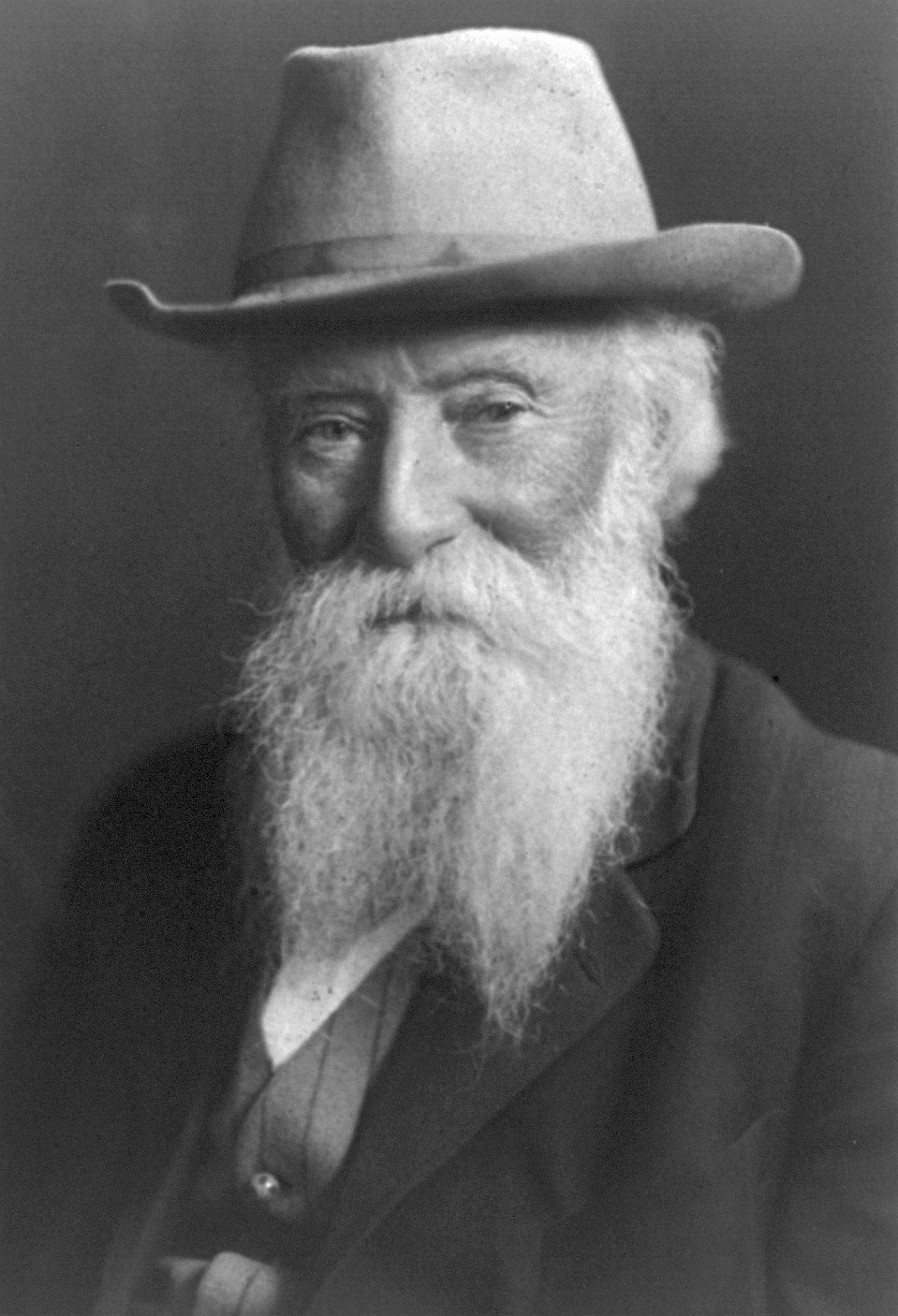 Portrait of John Burroughs